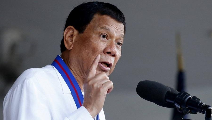 Tổng thống Philippines Rodrigo Duterte. (Ảnh qua Twitter)