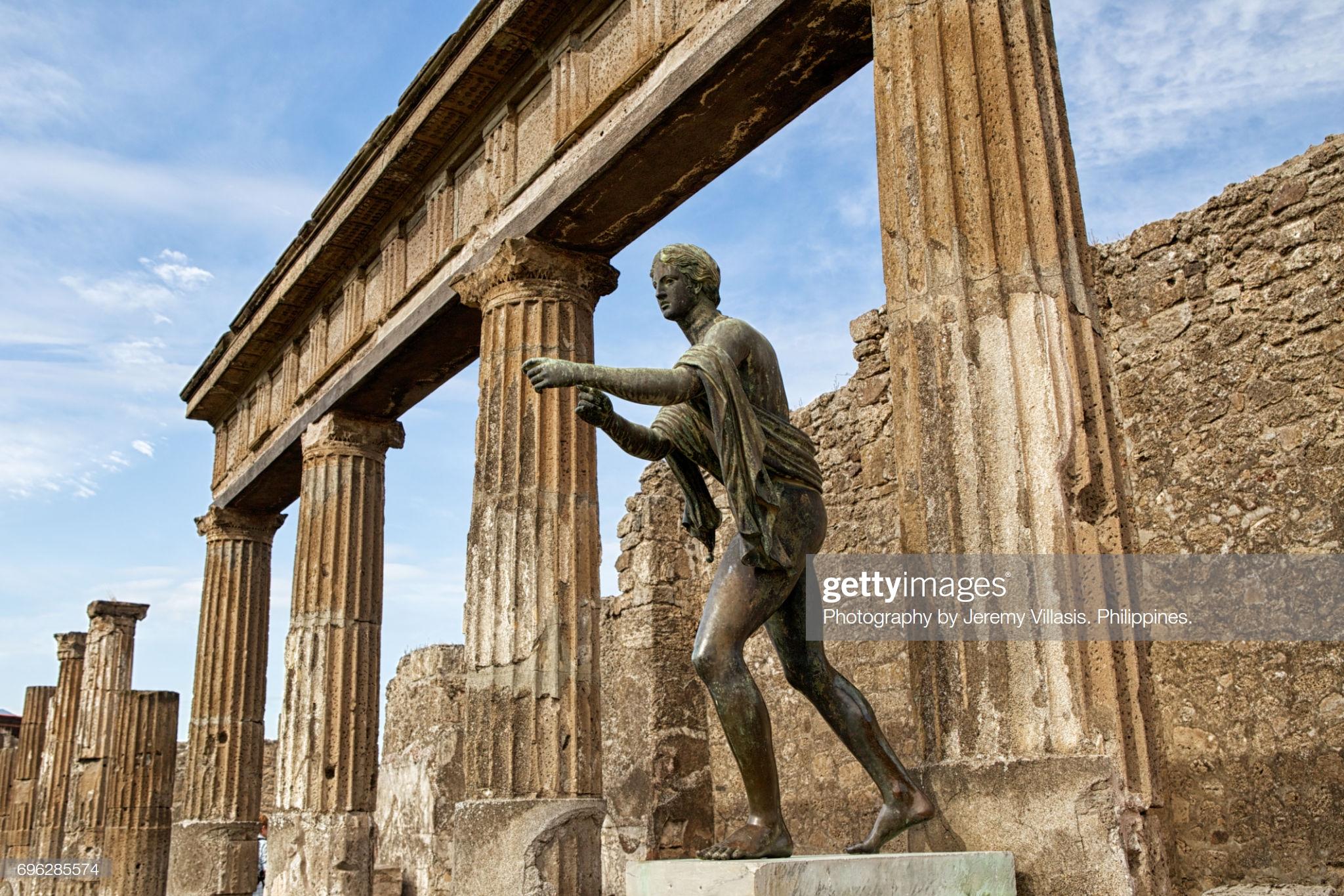 Pompeii ban đầu không phải là một thành phố La Mã