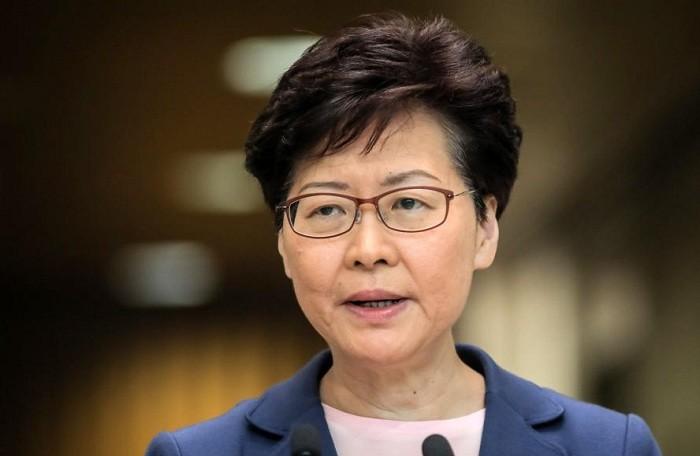 Trưởng Đặc khu Hành chính Hong Kong Lâm Trịnh Nguyệt Nga.