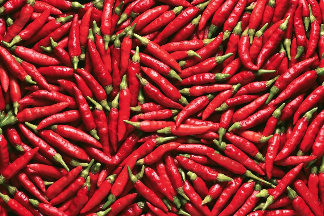 Ăn quá nhiều ớt không tốt cho sức khỏe.