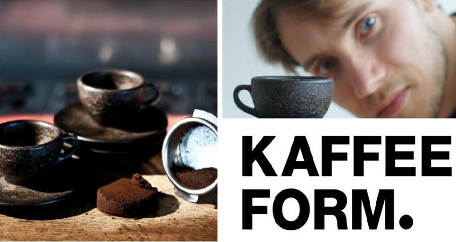 Biến bã cà phê thành cốc tái sử dụng thân thiện với môi trường