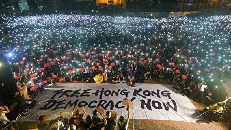 Những khoảnh khắc đáng nhớ trong phong trào biểu tình ở Hồng Kông