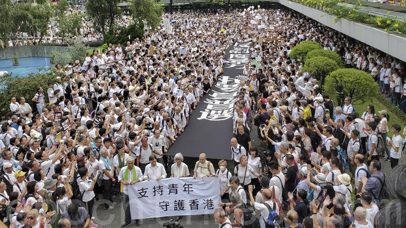 Những khoảnh khắc đáng nhớ trong phong trào biểu tình ở Hong Kong - ảnh 2