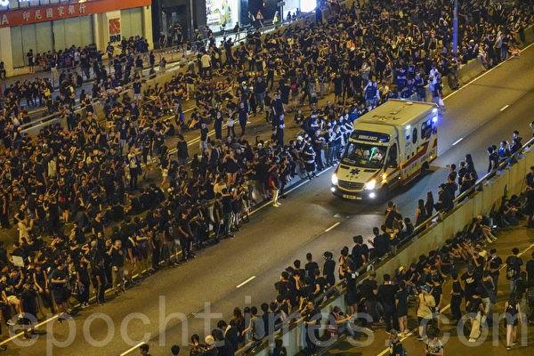 Những khoảnh khắc đáng nhớ trong phong trào biểu tình ở Hong Kong - ảnh 4