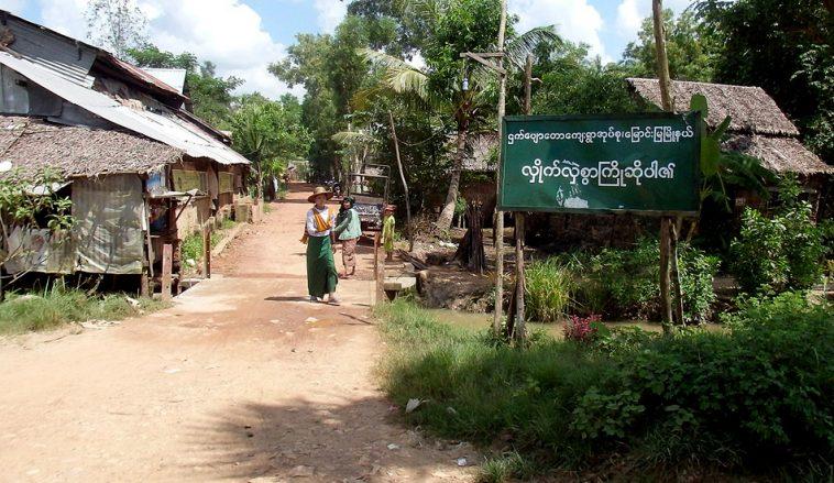 4 nông dân Myanmar bị bỏ tù vì phản đối một công ty Trung Quốc chiếm đất của họ. (Ảnh qua Trully Times)