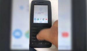 """Lộ diện điện thoại """"cục gạch"""" Nokia chạy Android, có cả Google Maps"""