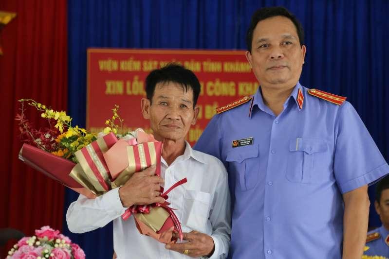 VKSND tỉnh Khánh Hòa xin lỗi công khai ông Trần Bê