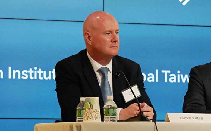 Steve Yates, Cựu phó cố vấn an ninh quốc gia Hoa Kỳ. (Ảnh: Epoch Times)