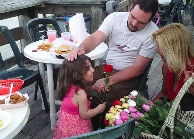 Gia đình cô Kristine đã dành nhiều tình cảm cho Natalia.