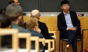 Hoàng Chi Phong kêu gọi Mỹ đưa biểu tình Hong Kong vào chương trình đàm phán thương mại