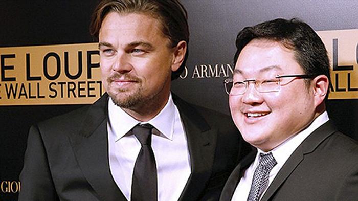 Nam tài tử Leonardo DiCaprio (trái) và tỷ phú Jho Low.