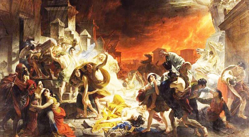 10 sự thật đáng kinh ngạc về Pompeii và vụ phun trào núi lửa Vesuvius