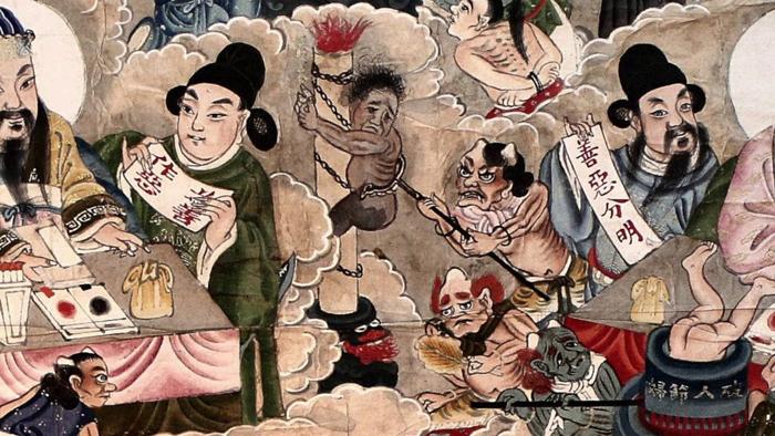 Toàn bộ báo ứng dưới địa ngục là do con người gây nên, người tốt số tất theo Thiên lý mà hành, càng không dám làm tổn hại Thiên lý.