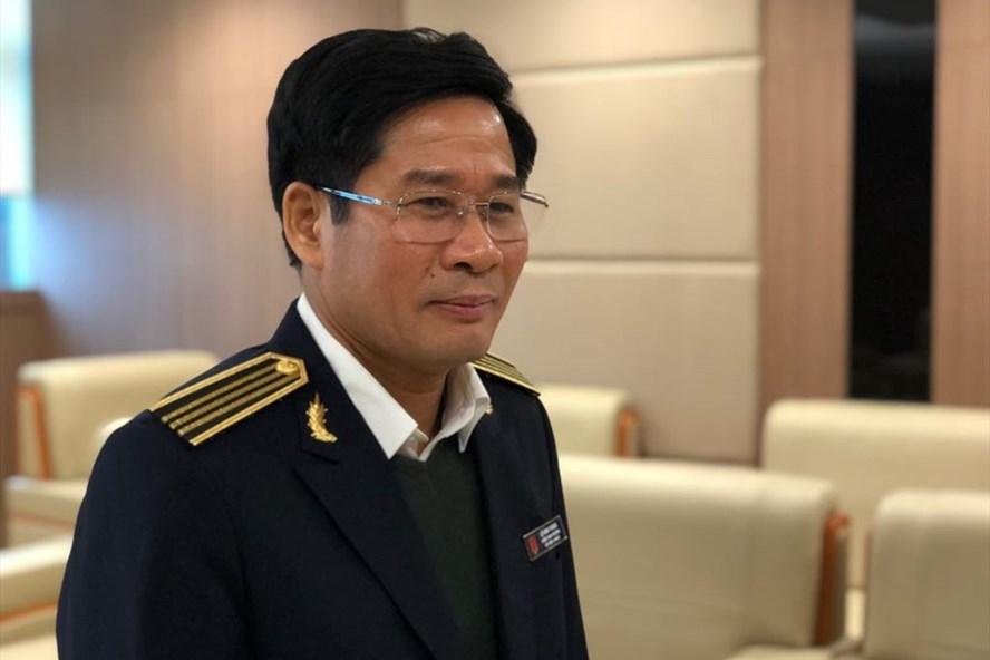 Ông Lê Đình Thăng, Kiểm toán nhà nước chuyên ngành III kiểm toán lĩnh vực ngân sách Trung ương của Bộ, ngành, cơ quan thuộc Chính phủ. (Ảnh qua laodong)