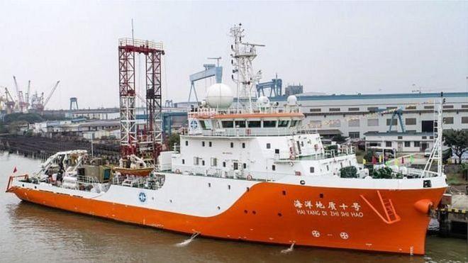 Tàu của Trung Quốc các loại 'quấy nhiễu' tại vùng biển bãi Tư Chính trong mấy tháng qua, kể từ đầu tháng Sáu 2019. (Ảnh qua bbc)