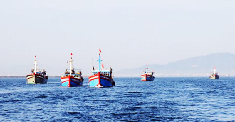 Trung Quốc liên tiếp cản phá ngư dân Việt Nam. (Ảnh qua hanoimoi)