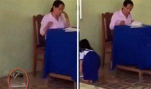 Bạc Liêu: Cô giáo ném vở học sinh xuống đất bị tạm ngừng đứng lớp