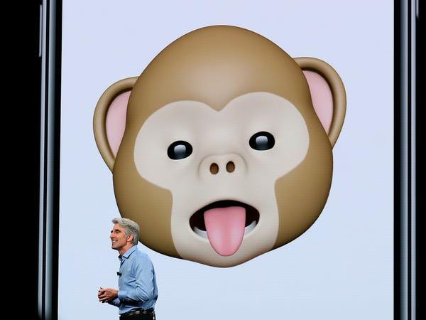 """12 quả """"bom xịt"""" để đời của Apple - animoji"""