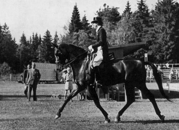 Lis Hartel, một vận động viên Olympic người Đan Mạch đã tuyên bố rằng cưỡi ngựa giúp cô phục hồi sau khi mắc bệnh bại liệt.