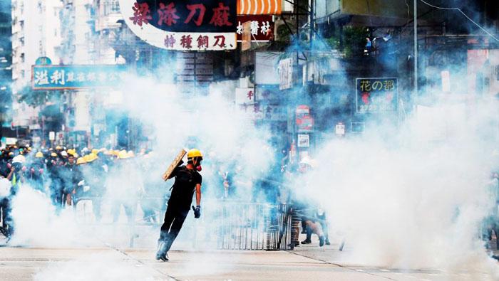 Rất nhiều người trẻ tuổi Hông Kông đang đứng ở tuyến đầu trong các cuộc biểu tình.
