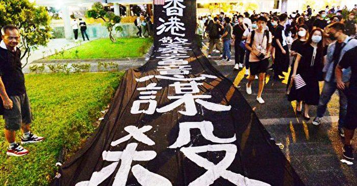 Bắc Kinh bôi nhọ người biểu tình là 'khủng bố' để đối phó với chính sách 'chống cộng' của Mỹ