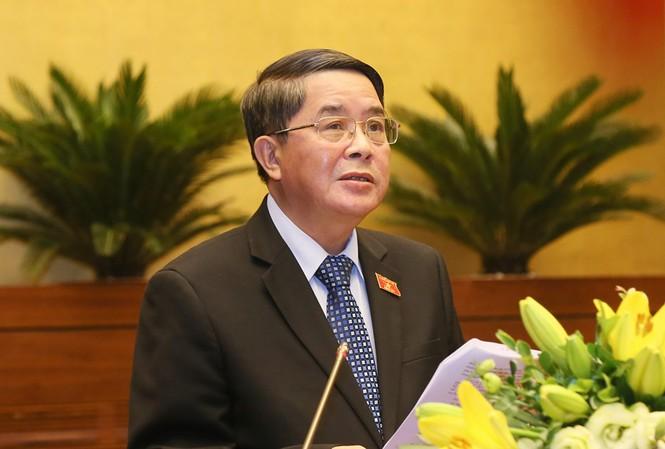 Chủ nhiệm Uỷ ban Tài chính ngân sách của Quốc hội Nguyễn Đức Hải.