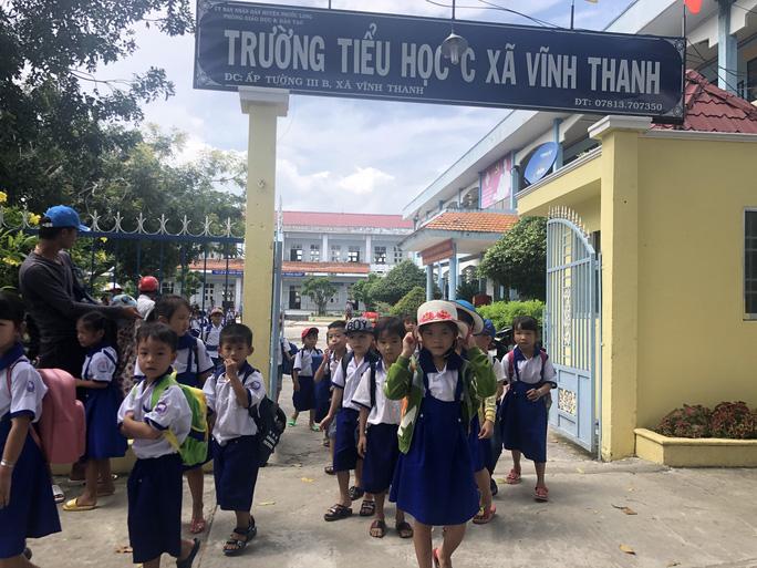 Trường Tiểu học C Vĩnh Thanh.