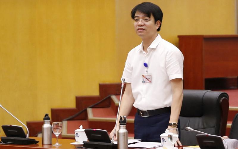 Ông Phạm Tân Tuyến - Vụ trưởng Vụ Tổ chức cán bộ (Bộ Tài nguyên và Môi trường). (Ảnh qua Zing)