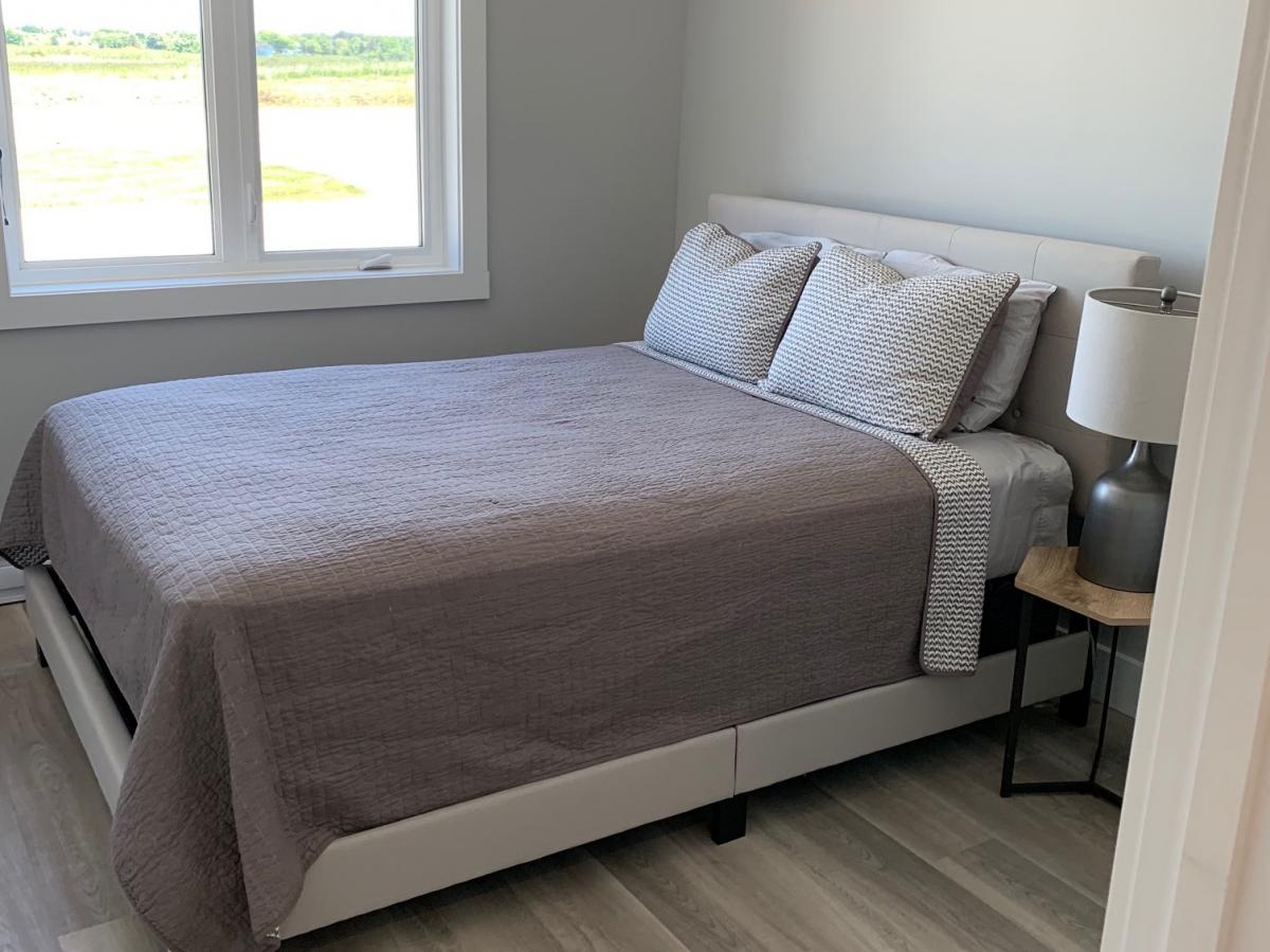 Căn nhà mẫu có 3 phòng ngủ. (Ảnh: JD Composites Inc)