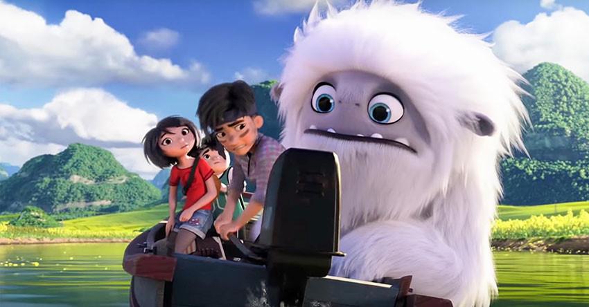 """""""Everest: Người tuyết bé nhỏ (Abominable)"""" là tác phẩm đến từ hãng DreamWorks Animation. (Ảnh qua vtc)"""