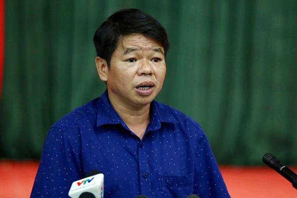 Ông Nguyễn Văn Tốn - TGĐ công ty cổ phần đầu tư nước sạch sông Đà. (Anh qua vietnamnet)