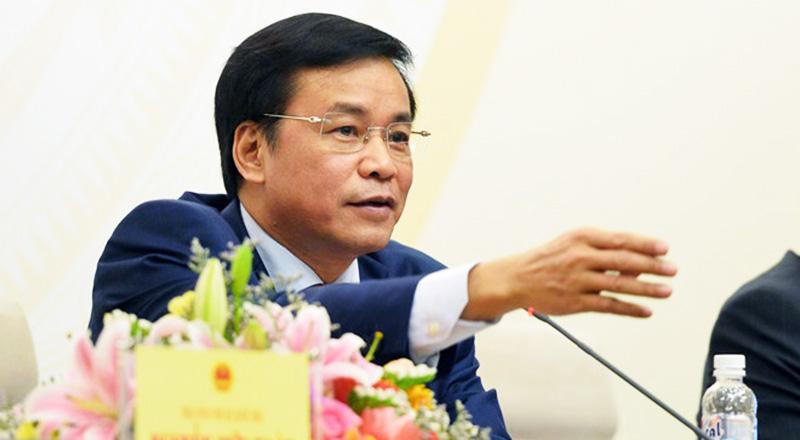 Tổng Thư ký Quốc hội Nguyễn Hạnh Phúc: Lần sau nhất quyết sẽ không cho đi nhờ chuyên cơ nữa. (Ảnh qua Zing)