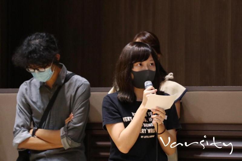 Ngô Ngạo Tuyết (Sonia), một nữ sinh viên tại Đại học Trung Văn Hồng Kông, đã cáo buộc cảnh sát Hồng Kông bạo hành tình dục trong thời gian cô bị giam giữ.