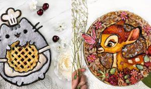 Những chiếc bánh nướng đẹp như tranh vẽ, chúng ta nên ăn hay nên treo tường?