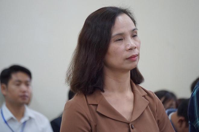 Bị cáo Triệu Thị Chính nhận mức án 2 năm tù.