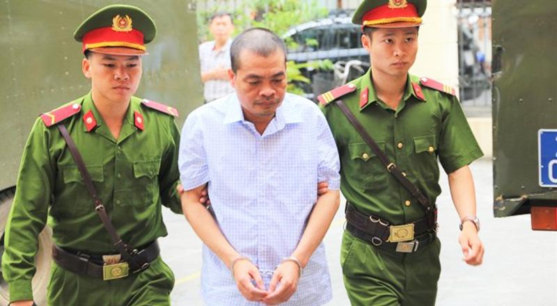 Bị Cáo Nguyễn Thanh Hoài lĩnh 8 năm tù.