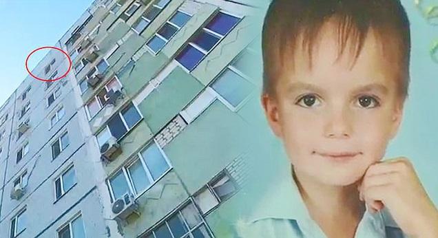 Bị cha mẹ bạo hành, cậu bé 8 tuổi nhảy từ lầu 9 xuống đất tự sát