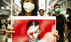 Những cô gái Hồng Kông hứng đạn tuyến đầu: Làm việc nghĩa thì không thể lùi bước