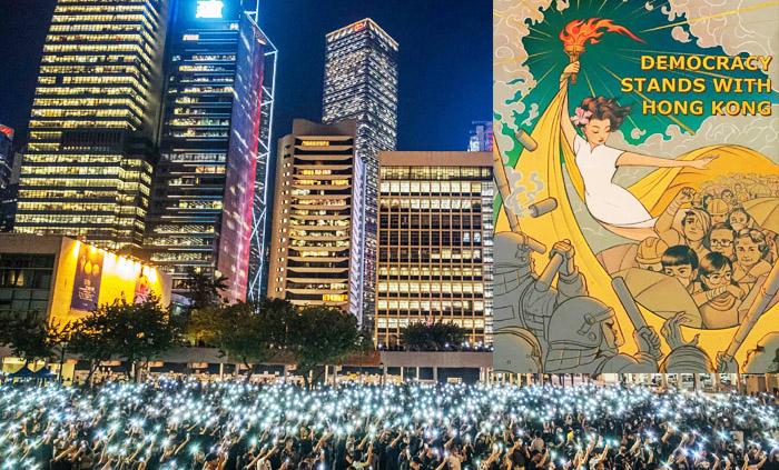 Người biểu tình tuyên bố thành lập chính phủ lâm thời trực tiếp đối kháng với chính quyền Đảng Cộng sản Trung Quốc