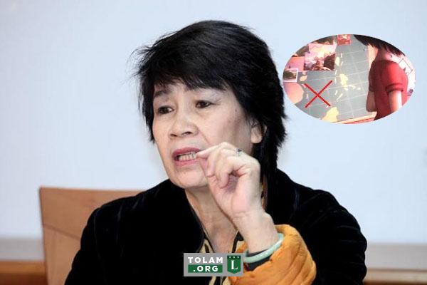 """Bà Hồng Ngát – thành viên Hội đồng thẩm định phim quốc gia – cho rằng hình ảnh đường lưỡi bò """"chỉ xuất hiện vài giây, mọi người cứ làm quá"""". (Ảnh qua tolam)"""