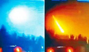 Trung Quốc xuất hiện thiên thạch rơi, dấy lên đồn đoán về cái chết của lãnh đạo