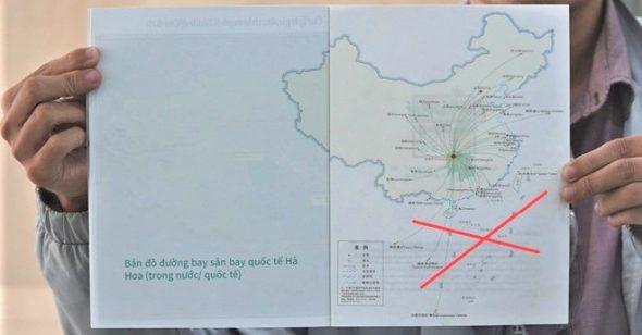 Saigontourist bị phạt 50 triệu vì phát cho khách ấn phẩm in 'đường lưỡi bò'