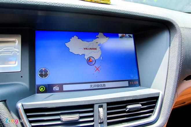 Nhiều mẫu xe Trung Quốc được bán ở Việt Nam cũng có đường lưỡi bò trên bản đồ.