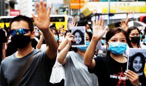 Hàng trăm ngàn người Hồng Kông lại xuống đường ngày 20/10 bất chấp lệnh cấm từ cảnh sát