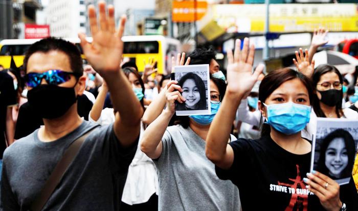 Người biểu tình Hồng Kông tố cảnh sát lạm dụng bạo lực