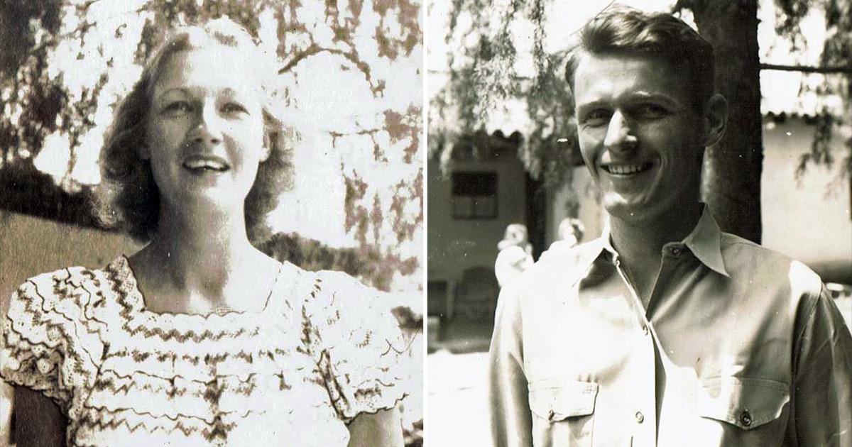 BàIsabell Whitney và ông Preble Stave khi còn trẻ.