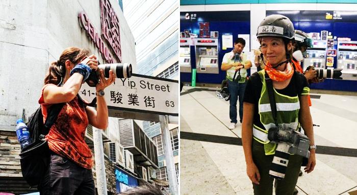 Nhiếp ảnh gia tự do May James bị cảnh sát Hồng Kông bắt giữ