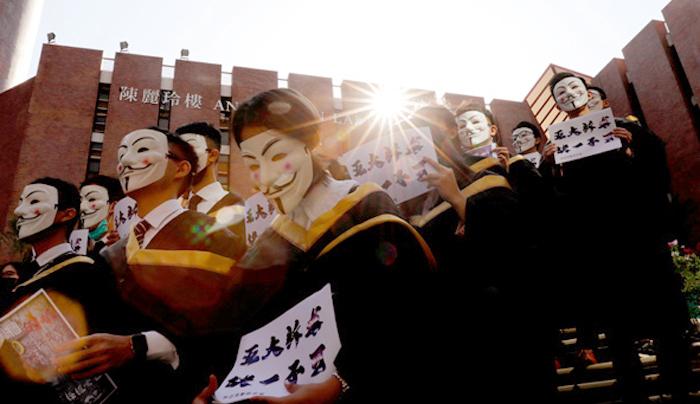 Bộ An ninh Quốc gia Trung Quốc đã áp dụng phương pháp thu thập thông tin kiểu mới, người biểu tình Hồng Kông dù có che mặt cũng không còn tác dụng.