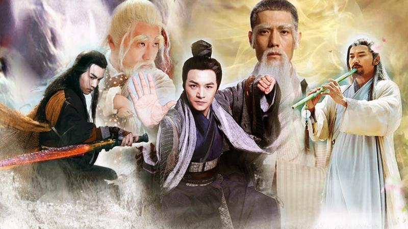 """""""Võ lâm ngũ bá"""" là cụm từ chỉ 5 nhân vật có võ công cao nhất trong """"Xạ điêu tam bộ khúc"""" của Kim Dung"""