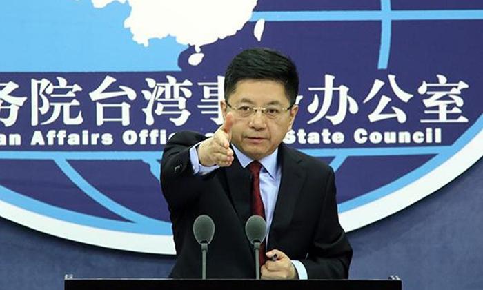 Ông Mã Hiểu Quang, người phát ngôn Văn phòng sự vụ Đài Loan thuộc Quốc vụ viện Trung Quốc.